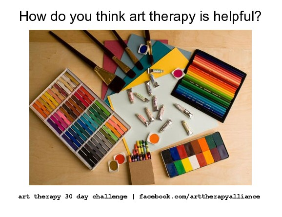 Art Therapy 30 Day Challenge Day 24