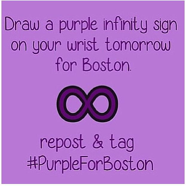 Purple for Boston