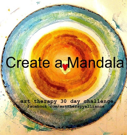 Art Therapy 30 Day Challenge: Day 5- Create a Mandala