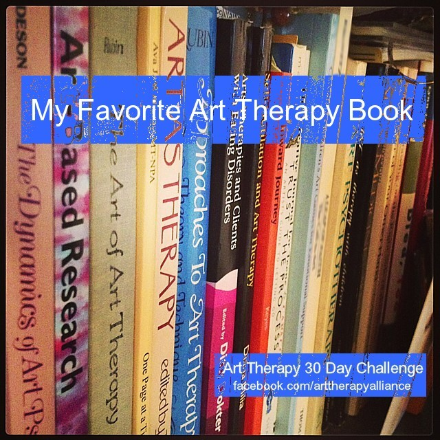 Art Therapy 30 Day Challenge: Day 2 : Favorite Art Therapy Book