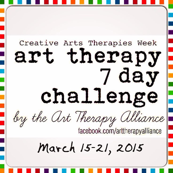 Creative Arts Therapies Week 2015 | Art Therapy Alliance